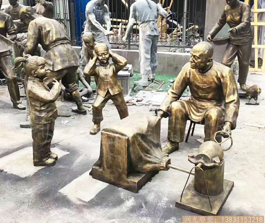 玻璃钢小品雕塑 小品雕塑制作